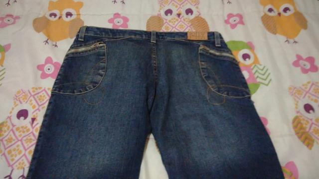 Bermuda e calça jeans feminina tam 42 - Foto 2