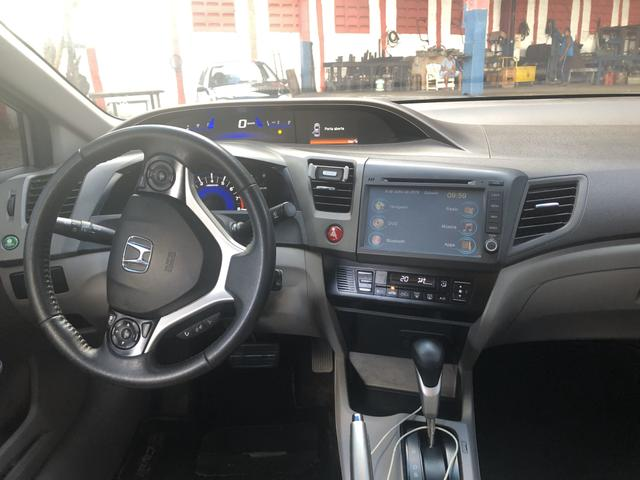 Honda civic LXR 2.0 2014/2014 Aut com Multimídia + IPVA 2020 Quitado - Foto 5