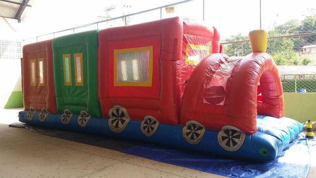 Trenzinho inflável - Foto 2