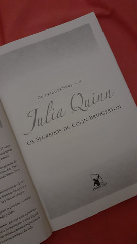 Livro Os segredos de Colin Bridgerton de Os Bridgertons - Foto 3