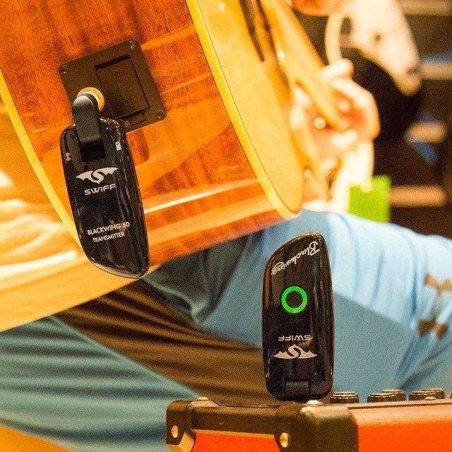 Transmissor de Guitarra Profissional Swiff WS 50 - 100 canais UHF - Foto 2