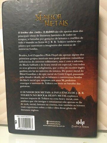 Livro O SENHOR DOS METAIS - Foto 2