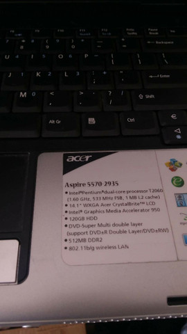 Notebook Acer aspire  - Foto 3