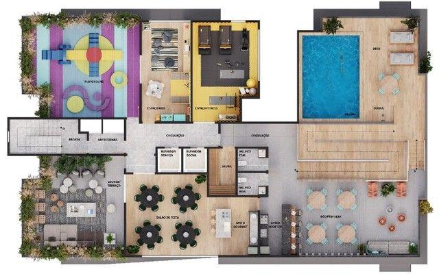Parus Residence- Construção- No melhor do Manaíra- 02 ou 03Qts- 01 ou 02Vgs - Foto 13
