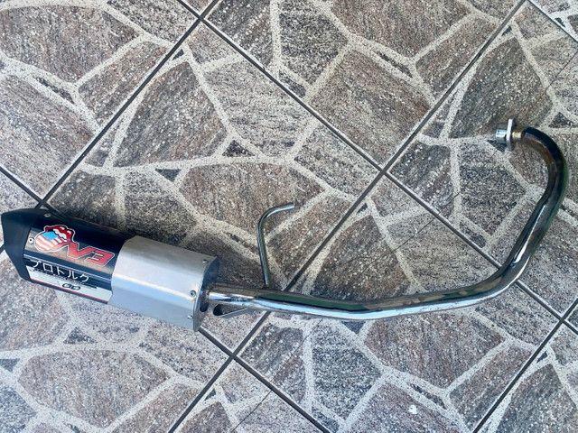 Escapamento Moto V3 YBR 125 Factor