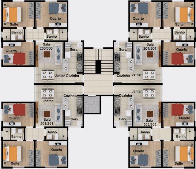 Oportunidade, apartamentos de 3 qtos com suíte e duas vagas no Santa Branca. - Foto 10
