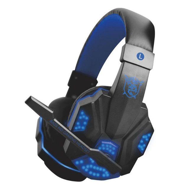 Fone spider Stereo Surround Gaming Headset Headphone com microfone cancelamento de ruído. - Foto 4