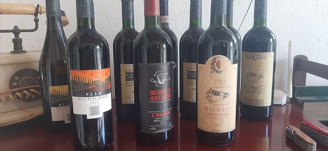 Coleçao de vinhos Italianos