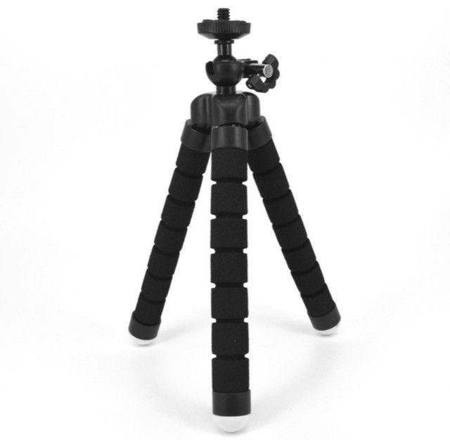 Mini tripé universal flexível - Foto 2