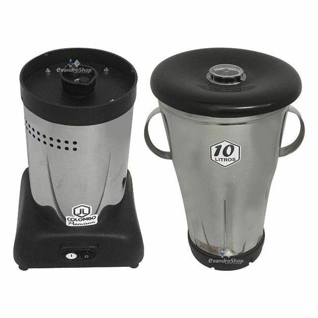 Liquidificador Industrial Baixa Rotação 10 Litros Inox Bivolt 3500 Rpm - Foto 6