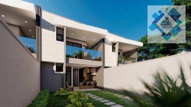 Casa com 4 dormitórios à venda, 137 m² por R$ 440.000,00 - Centro - Eusébio/CE - Foto 5