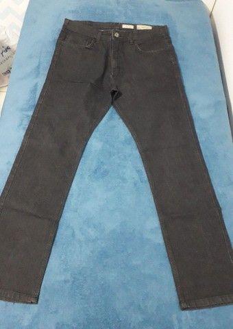 Calça jeans brim preta