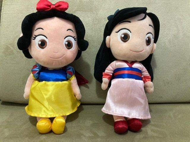 Princesas da Disney de pelúcia