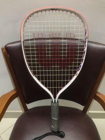 Raquete de tênis Wilson Vicious Wicked Treacherous Vy-Per 3 Oversize. - Foto 3
