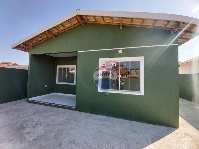 Casa com 2 dormitórios à venda, 67 m² por R$ 210.000 - Balneário das Conchas - São Pedro d