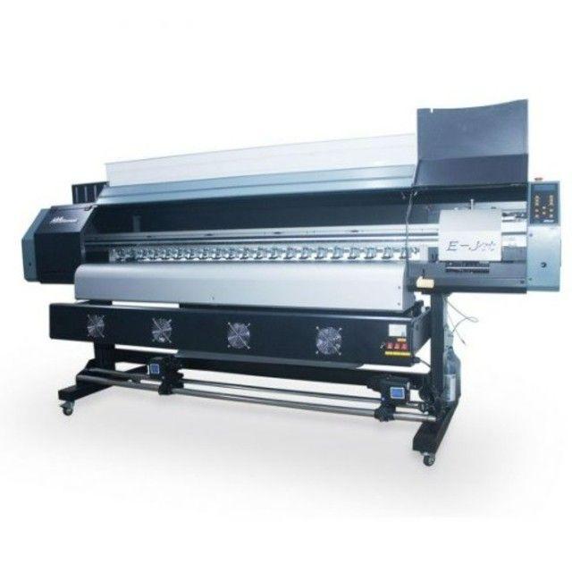 Impressora plotter solvente 1,80m Ejet E-jet DX5 - Foto 2