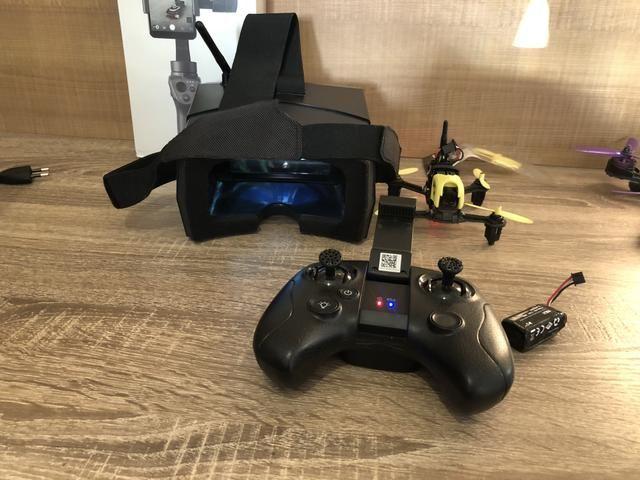 Drone racer hubsan ( kit completo com óculos)