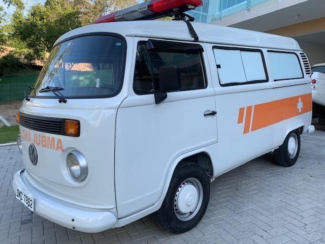 Kombi 2005 12.000km rodados Ambulancia Reliquia Raridade Unica