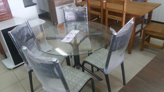 Lindos Conjunto de mesas no crediario - Foto 2