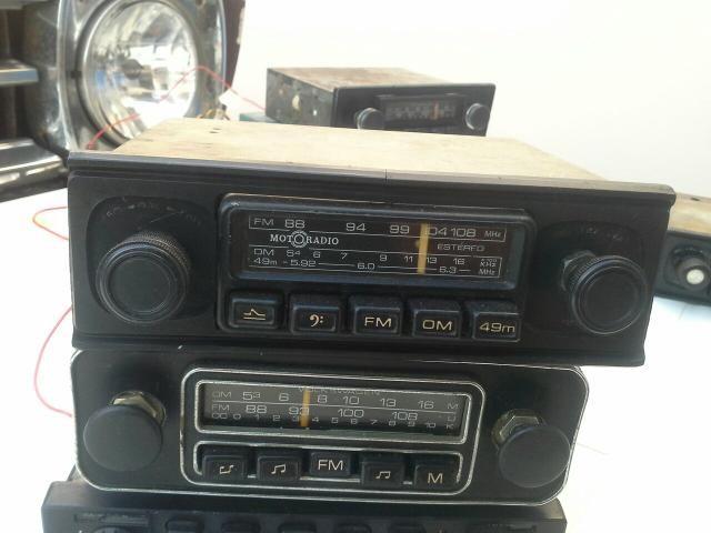 Rádio automotivo motoradio chevette opala caravan c10 veraneio c14 c15 GM - Foto 2