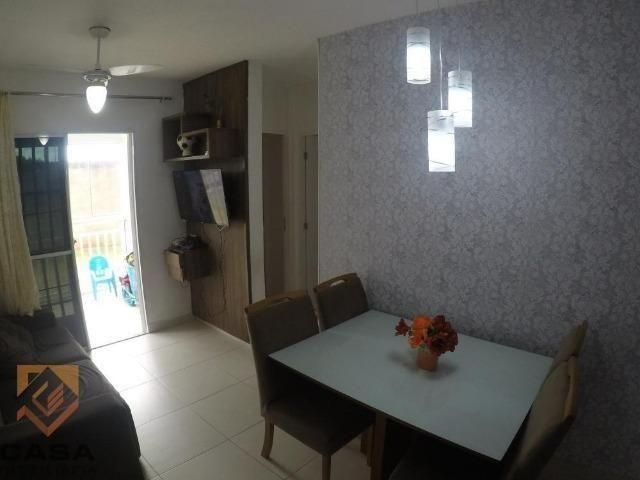 FM - Excelente apartamento 2 quartos térreo com fechamento de varanda - Praia da Baleia