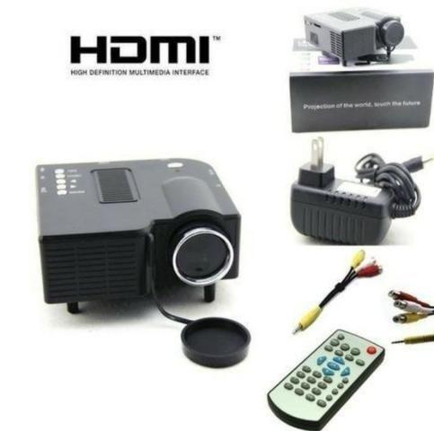Mini projetor 80 polegadas videos fotos - Barato - Foto 3