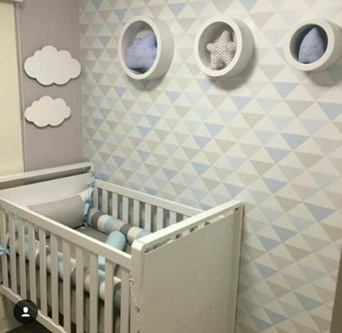 Papeis de parede triângulos geométricos - Foto 3