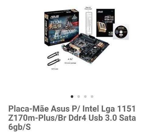 Kit PC Processador e Placa-Mãe - Foto 2