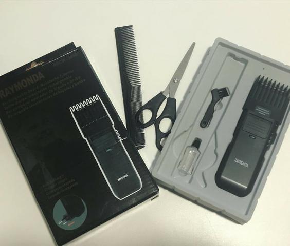 Máquina Para Corta Cabelo Fazer A Barba E Pezinho Raymonda - Foto 2