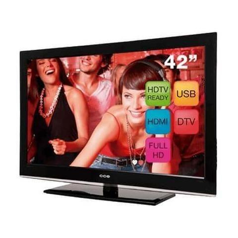 Tv 42 Cce Lcd Stile D4201 Full Hd Conversor Digital Hdmi Usb