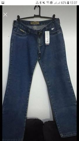 Calças jeans fabricadas pra Purpurina e Duda Dreans - Foto 2
