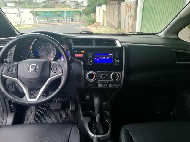 Honda Fit 2015 EXL ? Automático ? Banco de couro - Foto 5