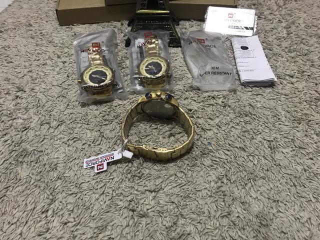 Relógio Naviforce original estilo militar a pronta entrega - Foto 3