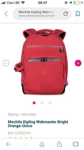 ad9a06882 Mochila Kipling Webmaster pop Vermelha - Bolsas, malas e mochilas ...