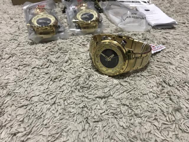 Relógio Naviforce original estilo militar a pronta entrega - Foto 4