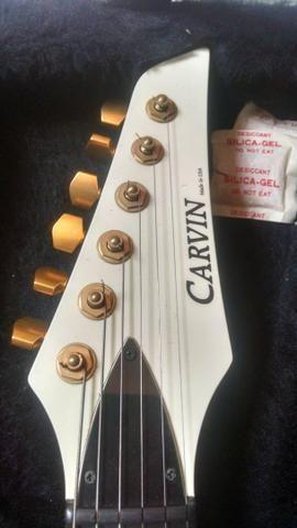 Primeira guitarra Carvin que pisou em solo brasileiro - Foto 5
