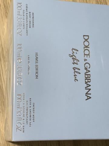 42cb537586c Perfume Feminino Dolce   Gabbana Light Blue 100ml Importado Original ...