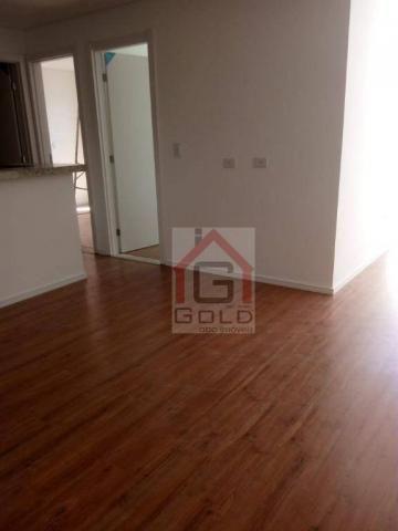 Apartamento com 2 dormitórios à venda, 55 m² por R$ 320.000 - Utinga - Santo André/SP