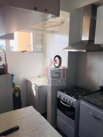 Apartamento com 2 dormitórios à venda, 55 m² por R$ 360.000 - Casa Branca - Santo André/SP - Foto 3