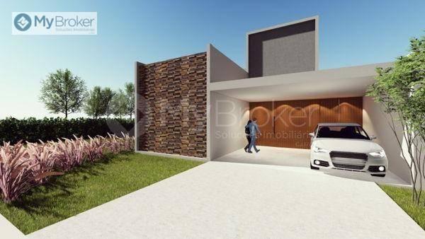 Casa com 3 dormitórios à venda, 150 m² por R$ 529.000,00 - Alvorada - Senador Canedo/GO