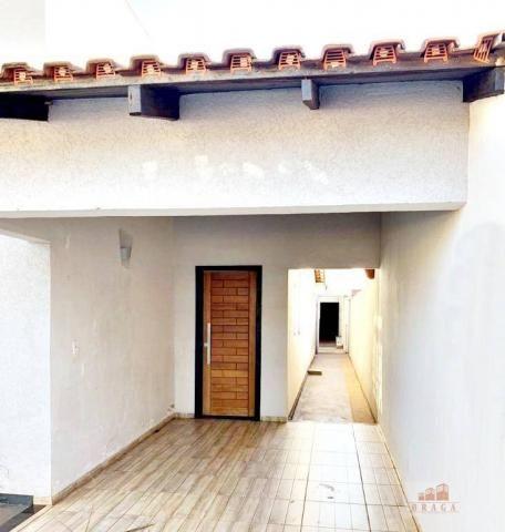 Vende-se casa com 160,00m², terreno 7,50mt x 40,00mt, bairro Portinari - Naviraí - MS - Foto 3
