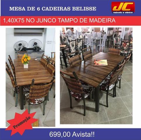 Mesas de 6 cadeiras na promoção a partir de r$499,00 reais - Foto 3