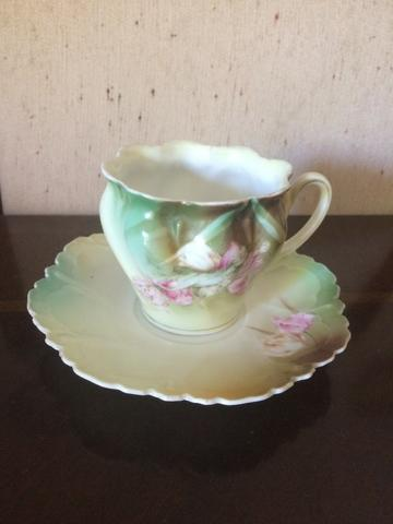 Xícara de chá porcelana RS Prússia - Foto 5