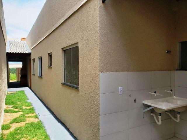 Vende se casa em senador canedo * 3 banheiros - Foto 2