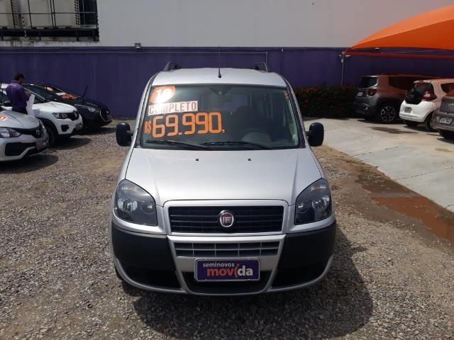 Fiat Doblo Essence 1.8 Flex 16V 5p - Prata - Foto 5
