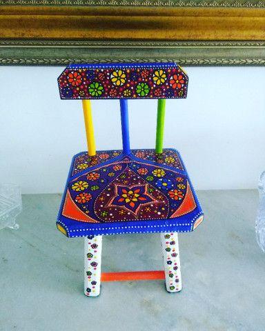 Cadeiras kid top art Clóvis Loureiro