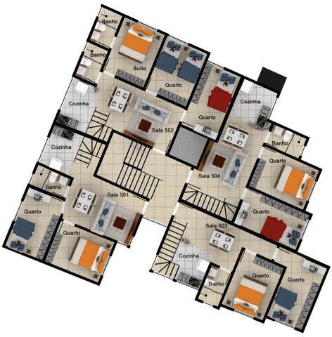 Excelente apartamento de 2 e 3 quartos no melhor ponto do Caiçara. - Foto 7