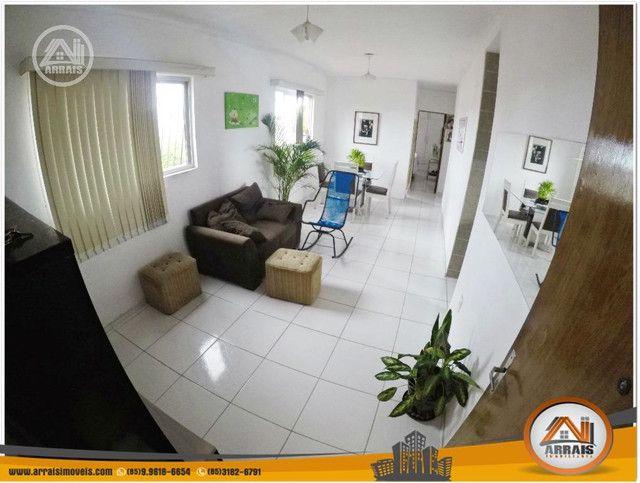 Apartamento à venda, 106 m² por R$ 200.000,00 - Vila União - Fortaleza/CE - Foto 3