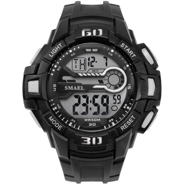 Relógio Masculino Digital Smael 1513 Prova Dágua 50 Metros