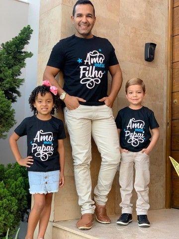 Camisa Dia dos pais Entrega grátis